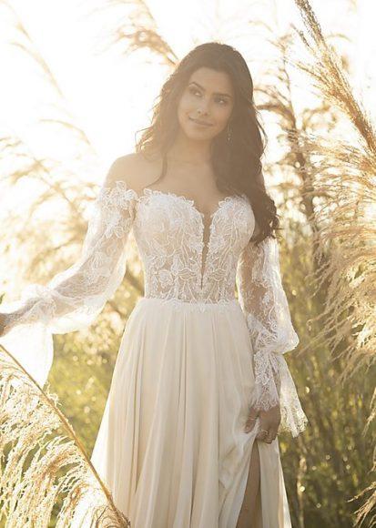 Boho Brautkleider Vintage Hochzeitskleid