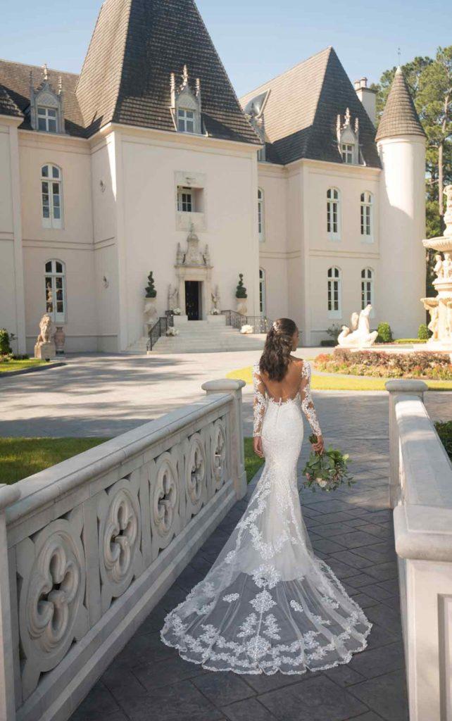 Brautkleider tiefer Rückenausschnitt