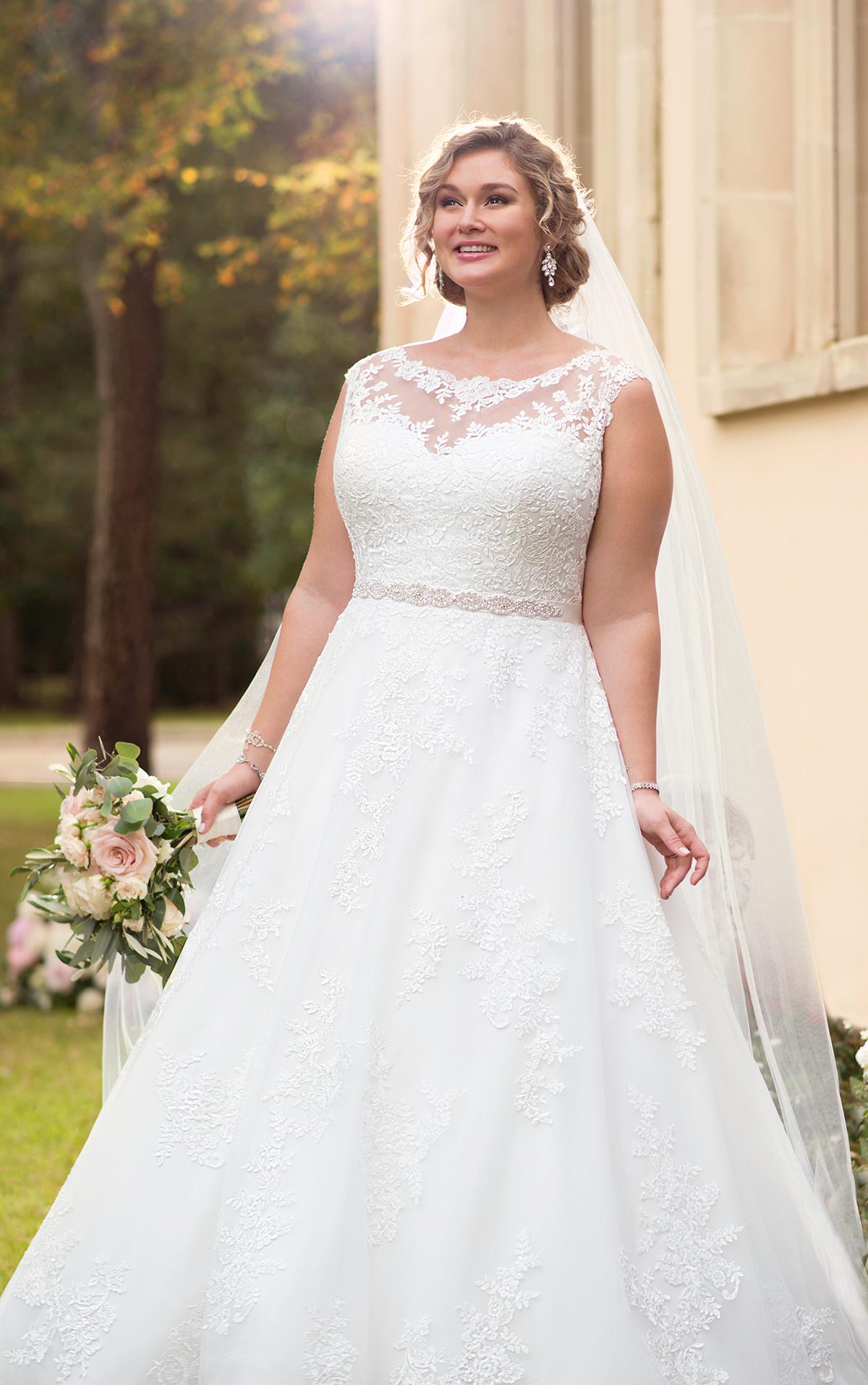Brautkleid curvy bride