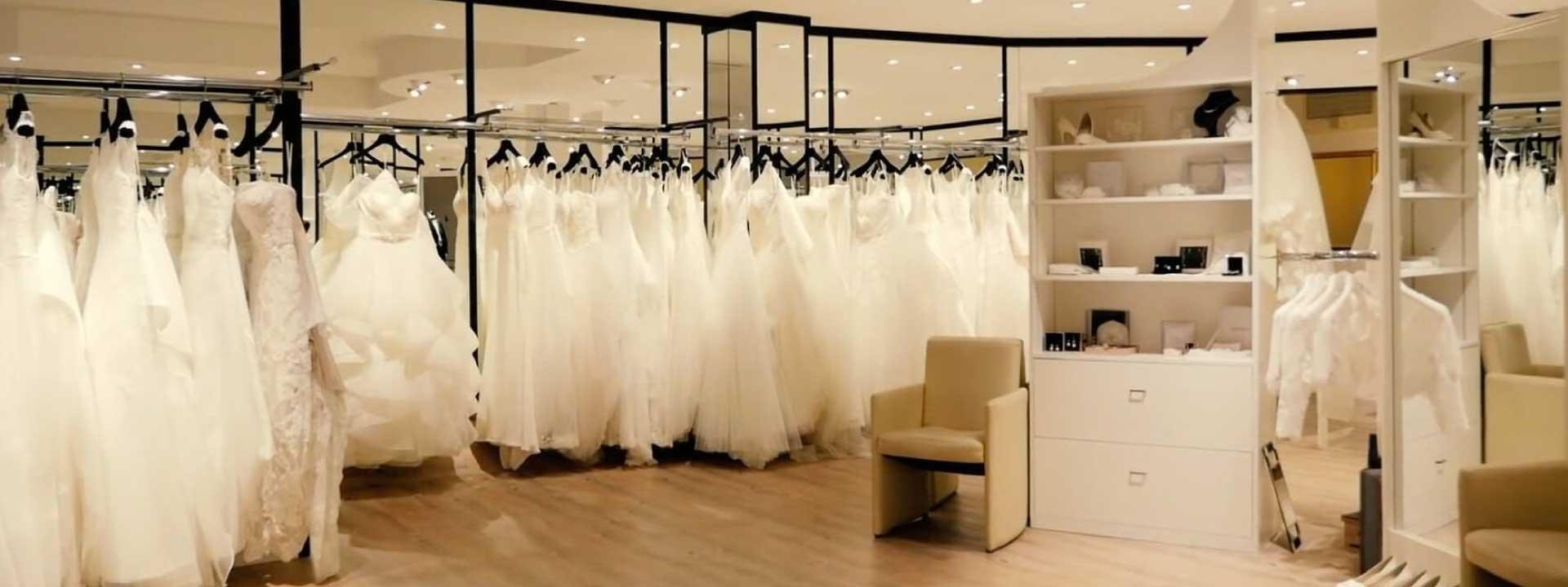 Brautmodenabteilung